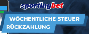 Sportingbet Wettsteuer